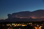 Cumulonimbus nad Brandýskem - autor: Miroslav Sedlmajer