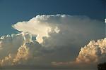 Detail cumulonimbu - autor: Miroslav Sedlmajer