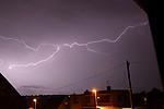 Rozvětvený blesk typu CC - autor: Miroslav Sedlmajer