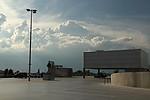 Celkový pohled na situaci severozápadně - bouřka na Slánsku - autor: