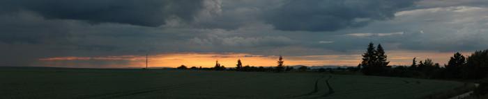 Panorama severozápadního obzoru - autor:
