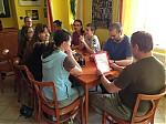 Členové AMS - o.s. na obědě vMladé Vožici - autor: Jan Drahokoupil