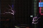 Blesky generované Teslovým transformátorem - autor: Jan Drahokoupil