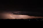 CG blesk sshelf cloudem za Středohořím - autor: Jan Drahokoupil