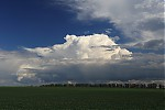 Slabší bouřka nad Prahou - autor: Jan Drahokoupil