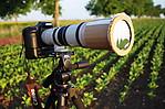 Teleobjektiv se solární clonou - autor: Jan Drahokoupil