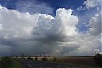 Odcházející bouřka snovou konvekcí - autor: Jan Drahokoupil