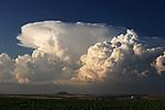 Dvě jádra bouří se vznikajícím přestřelujícím vrcholem - autor: Jan Drahokoupil