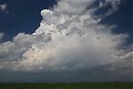 Vznikající bouřka - autor: Jan Drahokoupil