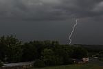 CG blesk zachycený pomocí Lightning triggeru - autor: