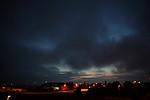 Stratový oblak nasávaný do bouřky - autor: