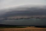 Shelf cloud na bow echu - autor: Jan Drahokoupil