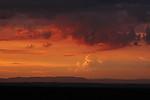 Vzdálená večerní konvekce nad Krušnými horami - autor: