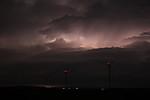 Dramatická oblačnost prosvícená blesky - autor: Jan Drahokoupil
