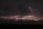 Komplikovaná struktura bouře osvětlená blesky - autor: Jan Drahokoupil