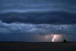 CG blesk zachycený během timelapsu - autor: Jan Drahokoupil