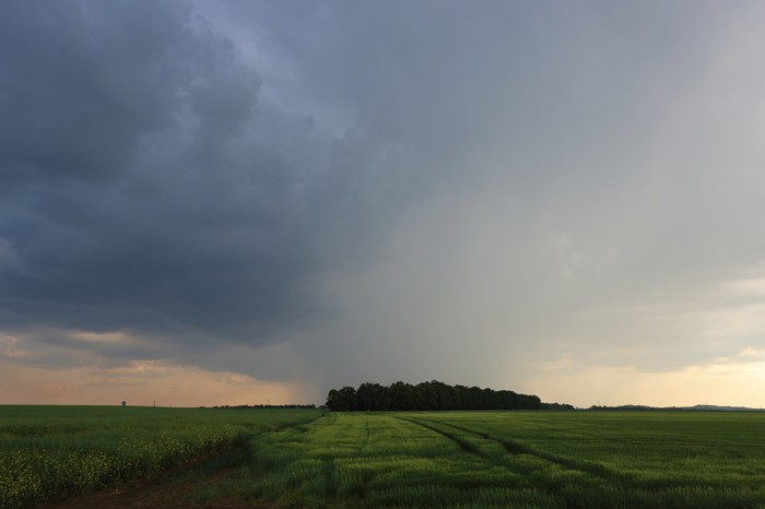 Bouřka na západě - autor: Jan Drahokoupil