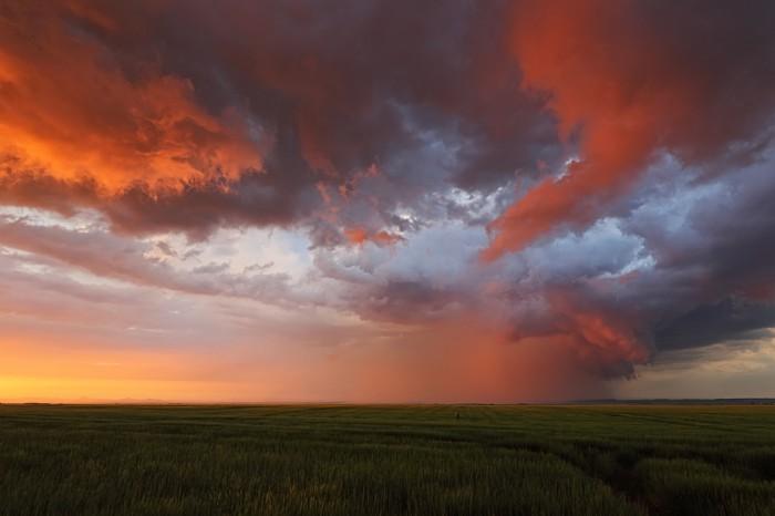 Rudá bouře II - autor: Jan Drahokoupil