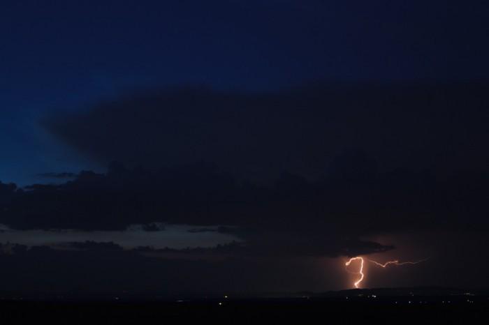 Bouřka nad Středohořím III - autor: Jan Drahokoupil