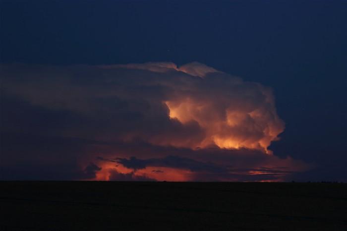 170km vzdálená bouřka - autor: Jan Drahokoupil
