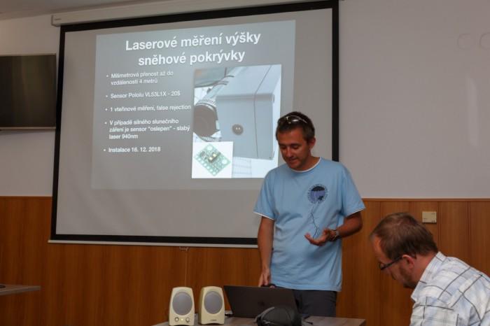 Rongič představuje úpravy meteostanice a webové stránky III - autor: Jan Drahokoupil