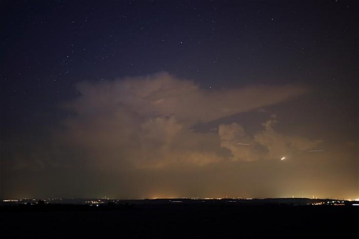 Noční bouřka I- autor: Jan Drahokoupil
