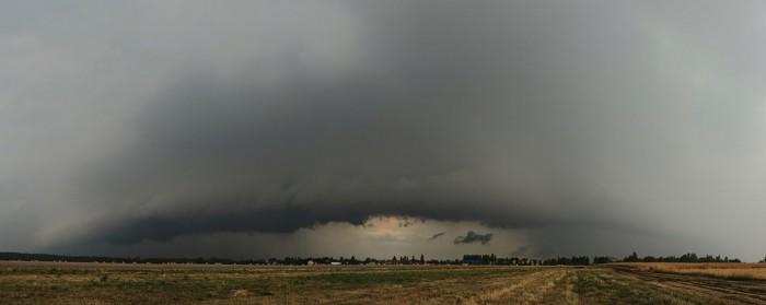 Panorama přicházející bouře - autor: Jan Drahokoupil