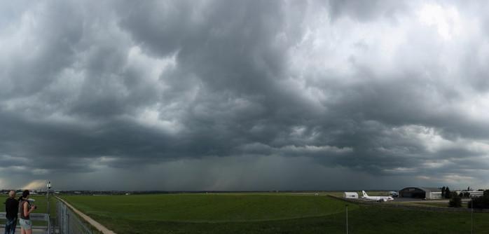 Panorama přicházející bouře - autor: