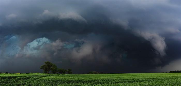 Dramatický nástup bouře - autor: Jan Drahokoupil