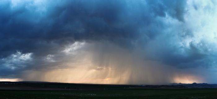 Panorama přicházejí bouřky - autor: Jan Drahokoupil