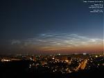 Noční svíticí oblaky - autor: Lukáš Ronge