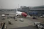 Pohled na letadlo, kterým jsme letěli do Osla - autor: Lukáš Ronge