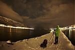 Vyhlížení polární záře - autor: Lukáš Ronge