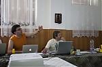 Petr Novák při přednášce - autor: Lukáš Ronge