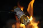 Večeře na ohni - autor: Lukáš Ronge