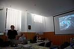 Martin Setvák prezentující situaci z15. 8. 2010 - autor:
