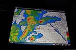 Pohled na radarový snímek na iPadu - autor: Lukáš Ronge