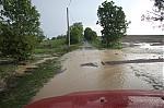 Zaplavená silnice - autor: Lukáš Ronge