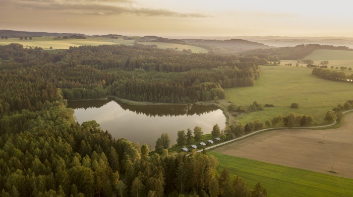 Radostovické rybníky - Budař - autor: Lukáš Ronge