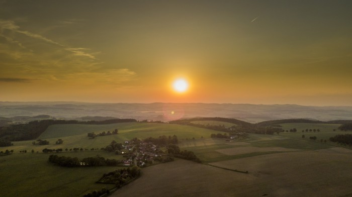 Západ Slunce vRadostovicích - autor: Lukáš Ronge