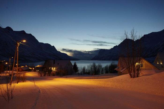 Večerní fjord - autor: Lukáš Ronge