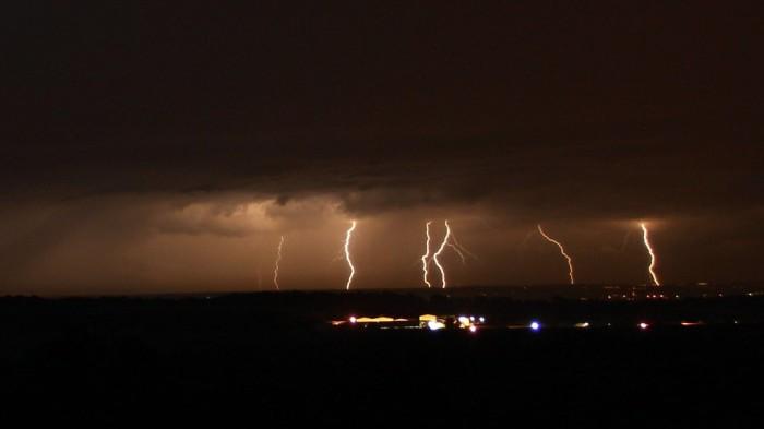 Noční bouřka vdálce - autor: Miroslav Meglič
