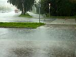 Přívalový déšť - autor: Michal Geryk