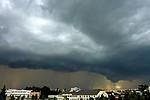 Bouřka svýrazným shelf cloudem - autor: Michal Geryk