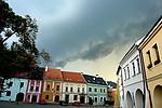 Shelf cloud nad Horním náměstím - autor: Michal Geryk