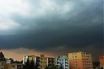 Přibližující se čelo bouřky - autor: Michal Geryk