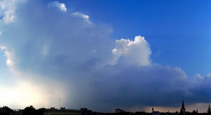 Panorama bouřky - autor: Michal Geryk