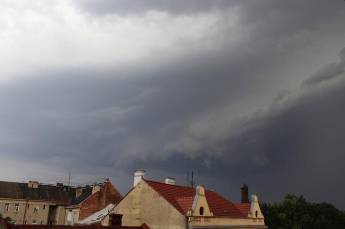 Příchod bouřky - autor: Michal Geryk