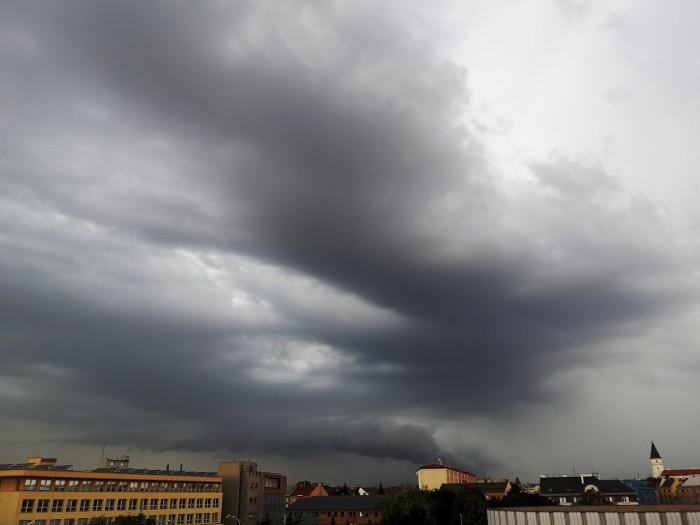 Bouřka severně od Přerova - autor: Michal Geryk