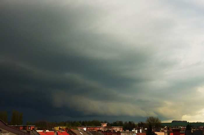 Shelf cloud - autor: Michal Geryk